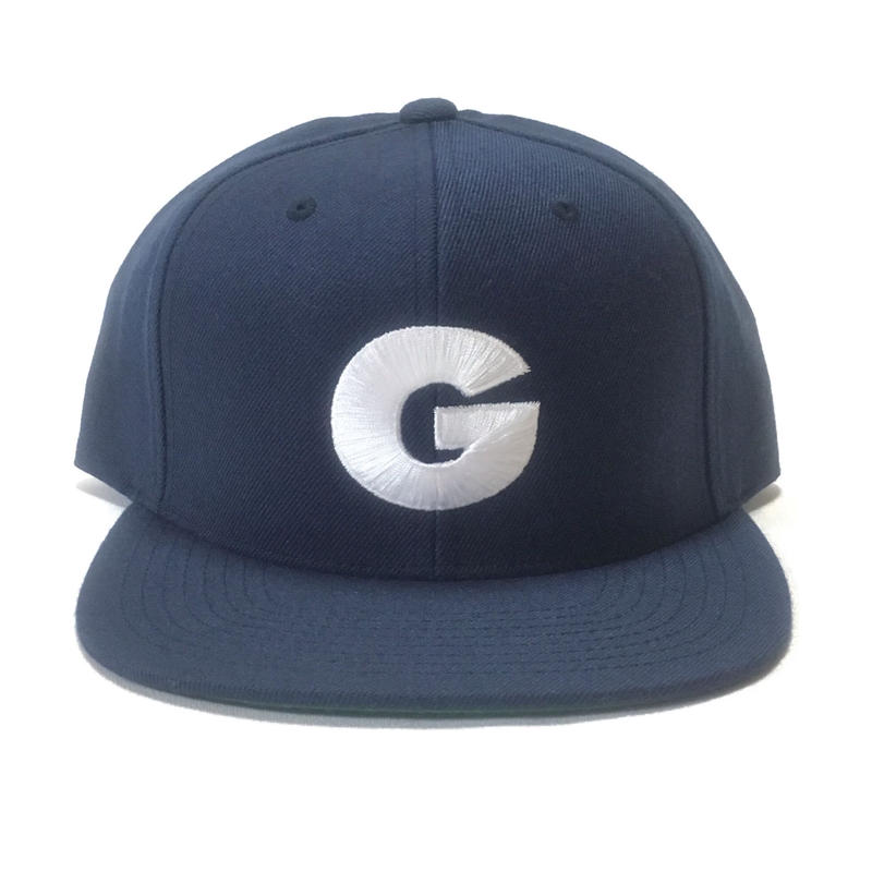 "Nuthin' But A ""G"" Thang Snapback Cap (Navy x White)"