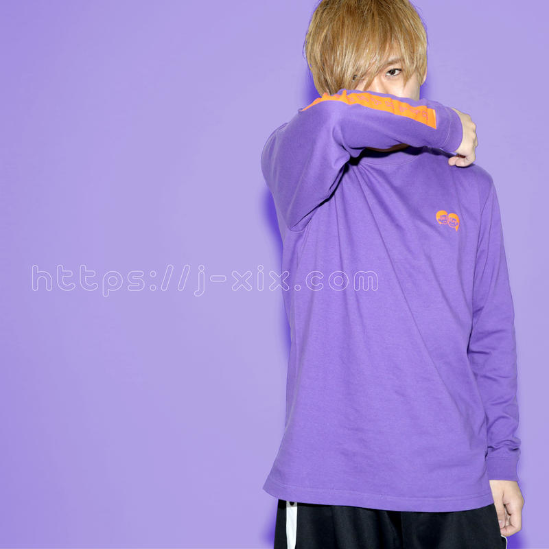 「Re:Play 」long sleeve t shirt  パープル