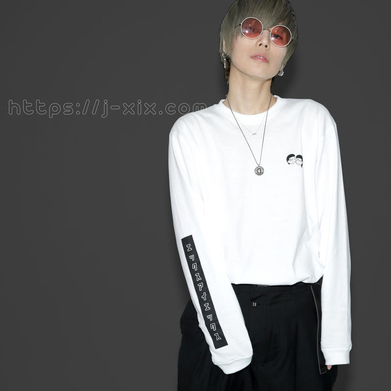 「Re:Play 」long sleeve t shirt  ホワイト