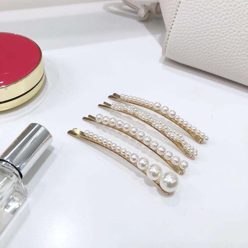 【即納】pearl pin set
