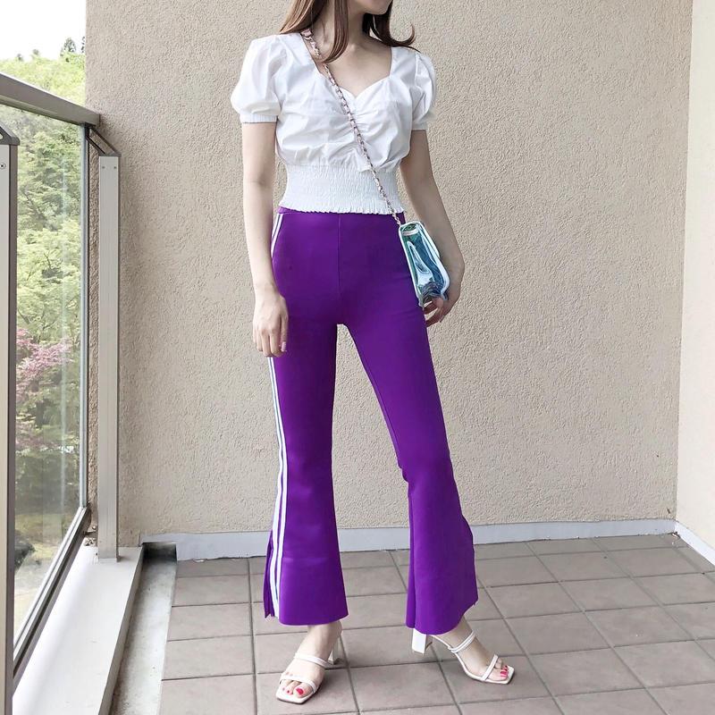 【予約】stretch line PT / purple