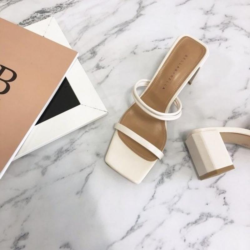 【予約】strap sandal / ivory