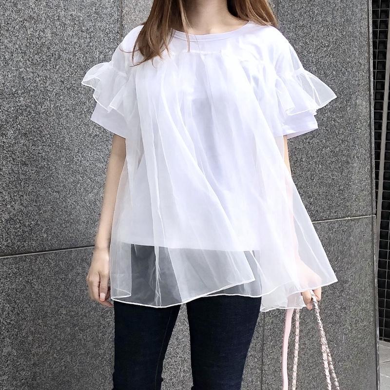 【即納】ballerina tee / white