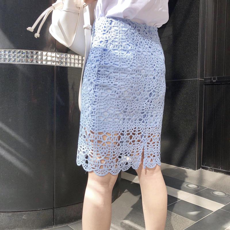 【即納】lady lace SK / blue