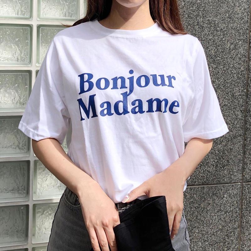 【即納】Bonjour tee