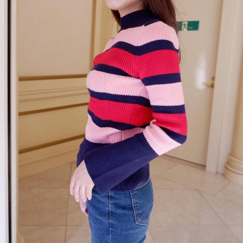 lovely border knit