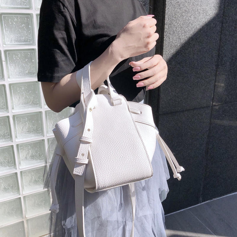 mini mock bag / ivory