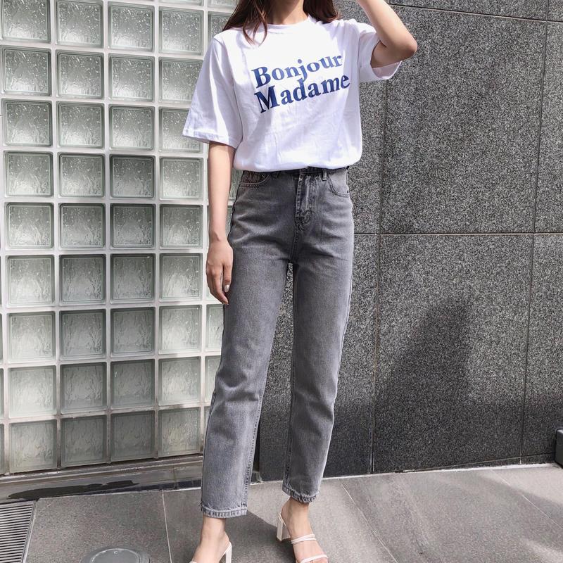 【予約】ice gray jeans