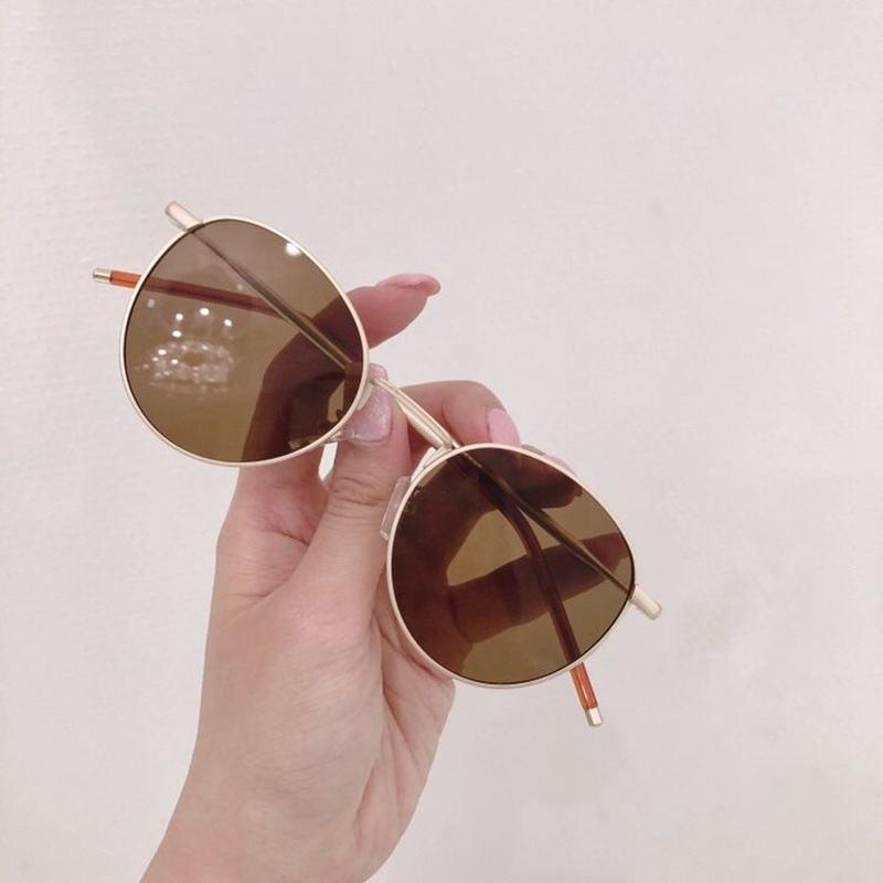 【予約】metal matte sunglasses