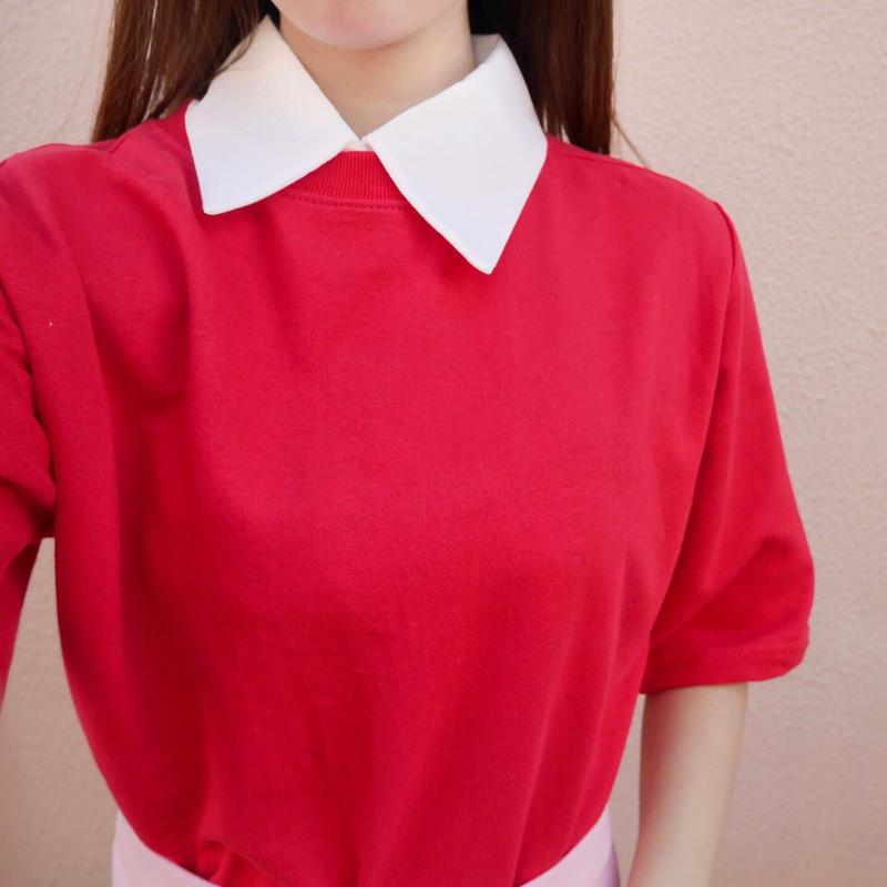 【即納】daily tee / red