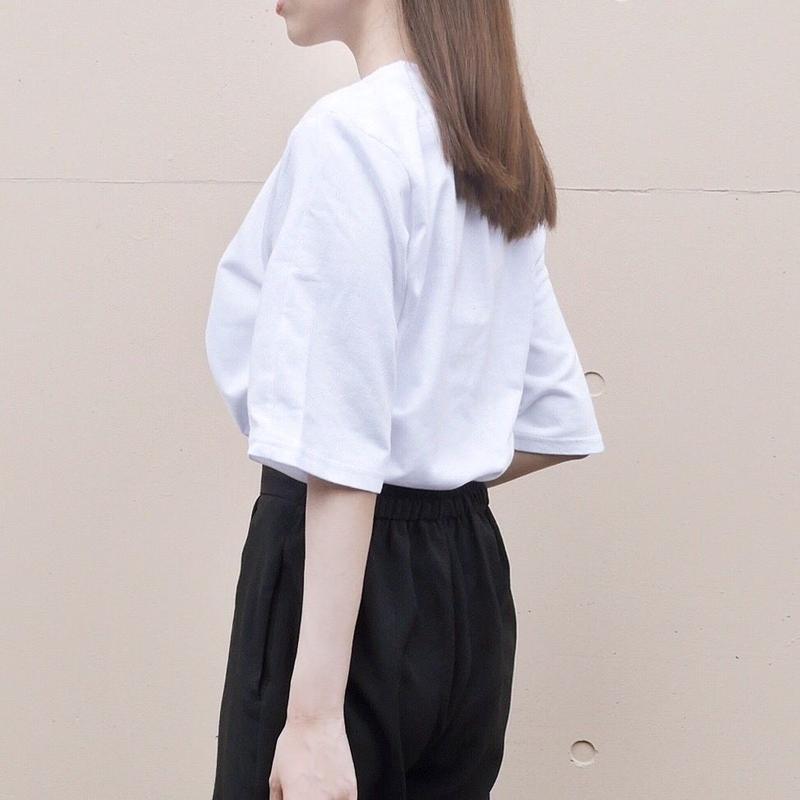 【即納】daily tee / white