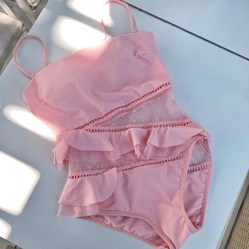 【即納】lady swim / pink