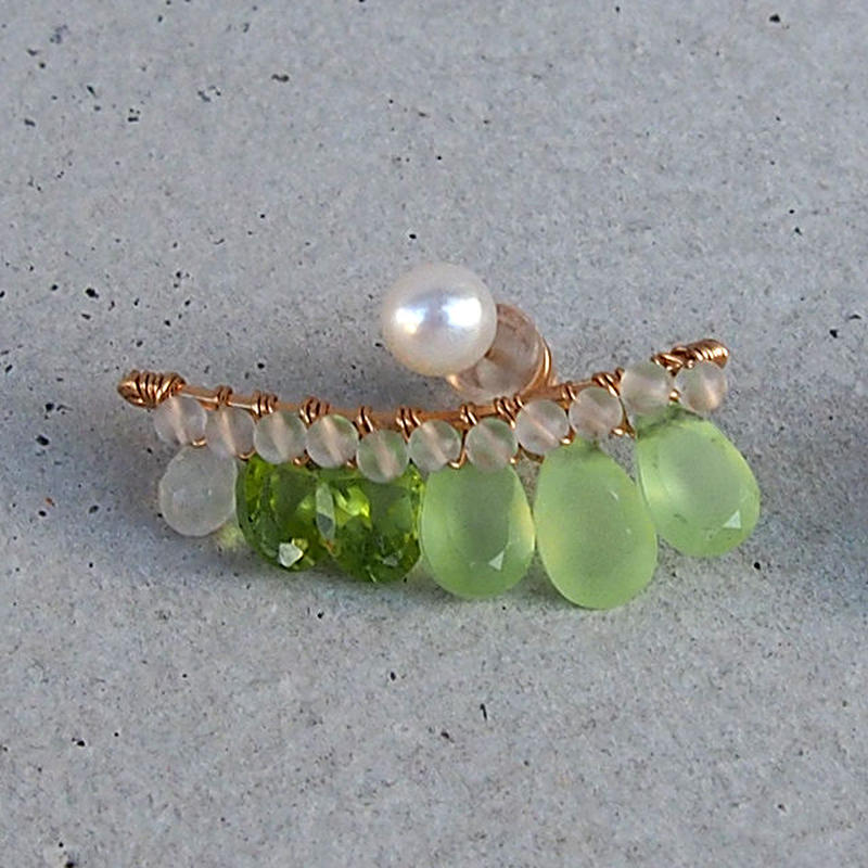 Lime Green  bijou ピアス 片耳売り  ( Single )