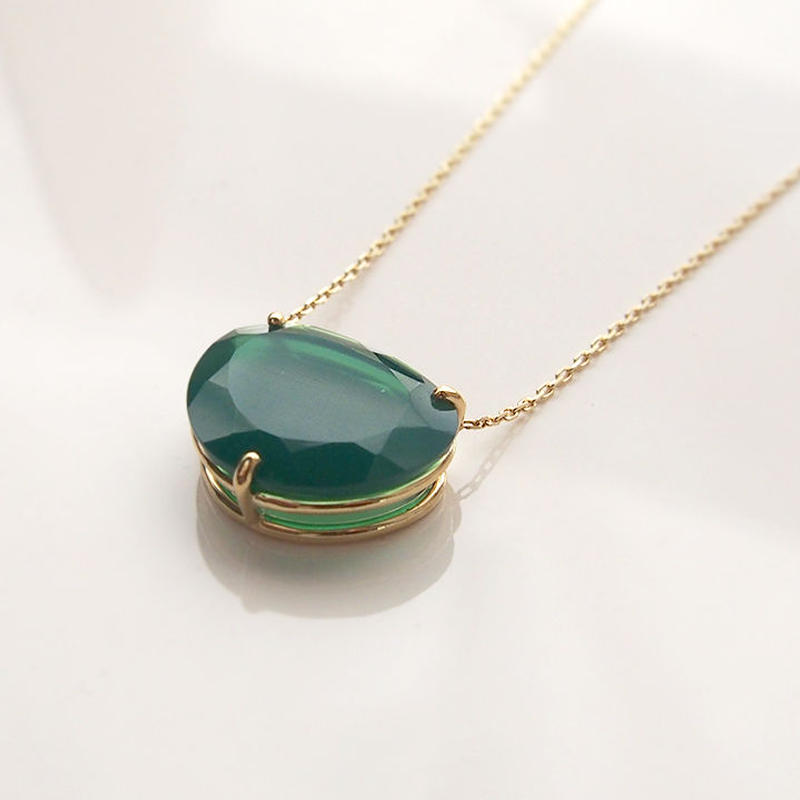 [XSORI luxe ] CANDY N .Green agate