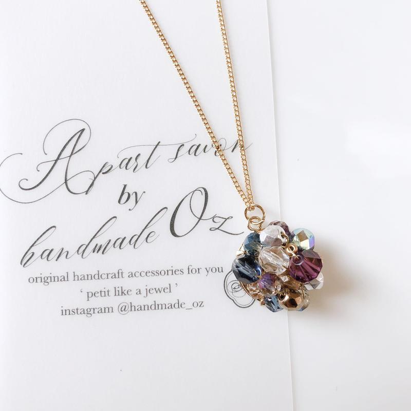 【Order item】Beas bijou necklace