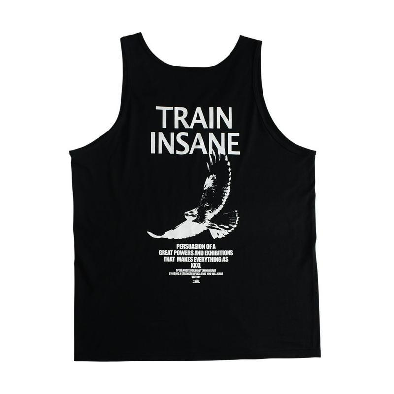 ''TRAIN INSANE''タンクトップ