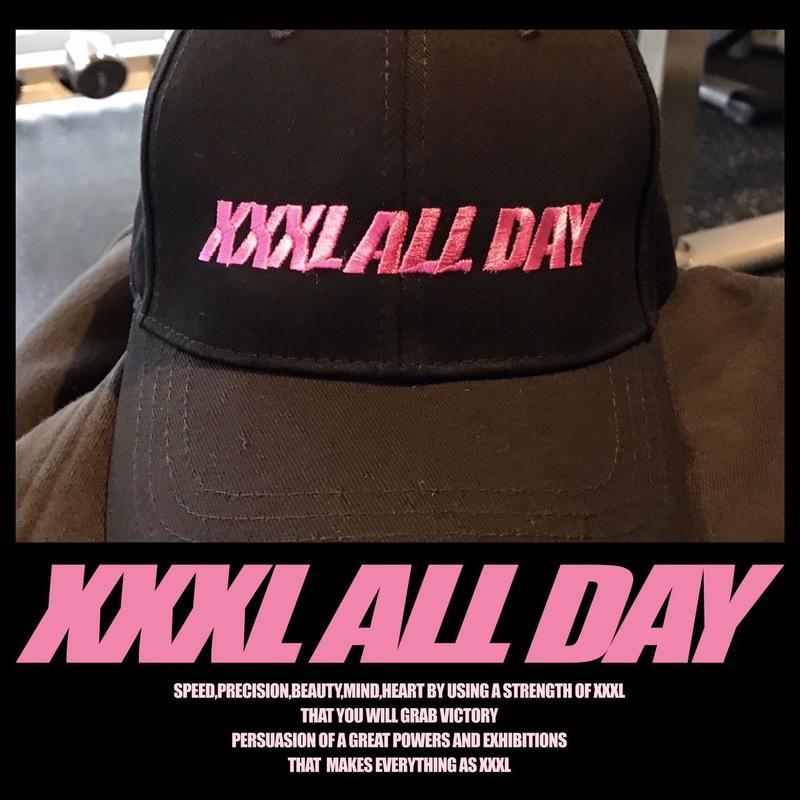 ''XXXL ALL DAY''メジャーCAP PINK