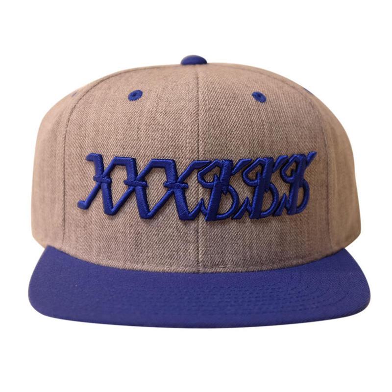 XXXSSS Tokyo Snapback (Grey X Royal Blue)