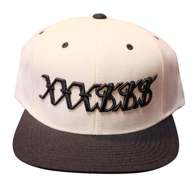 XXXSSS Tokyo Snapback (White X Black)