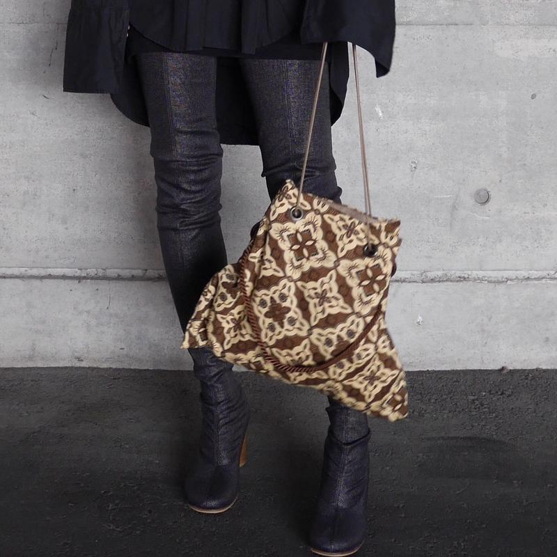 Batik 3ways bag BROWN