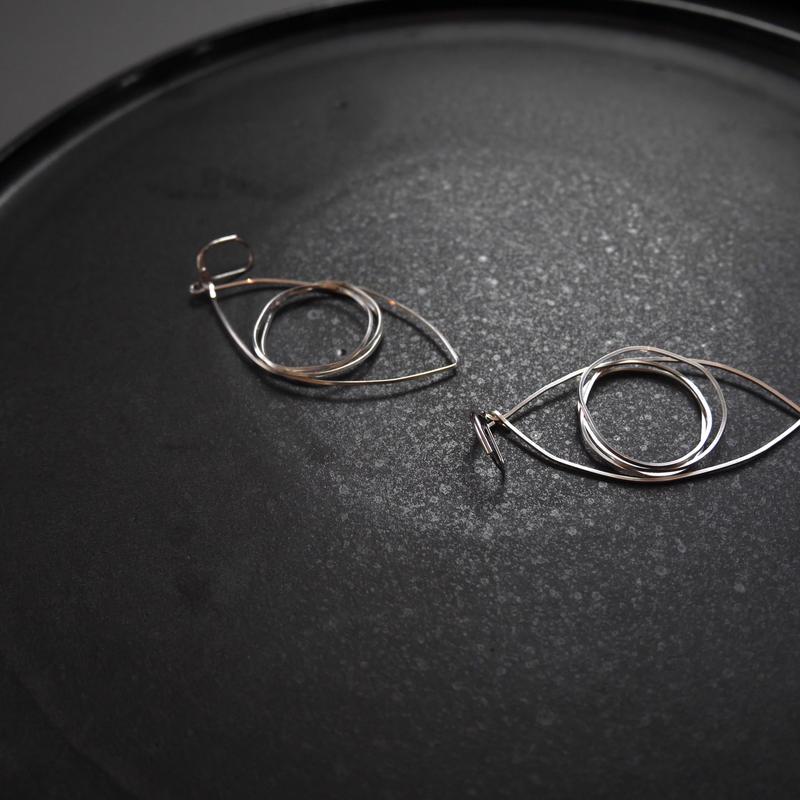 eyes pierce/earrings SILVER