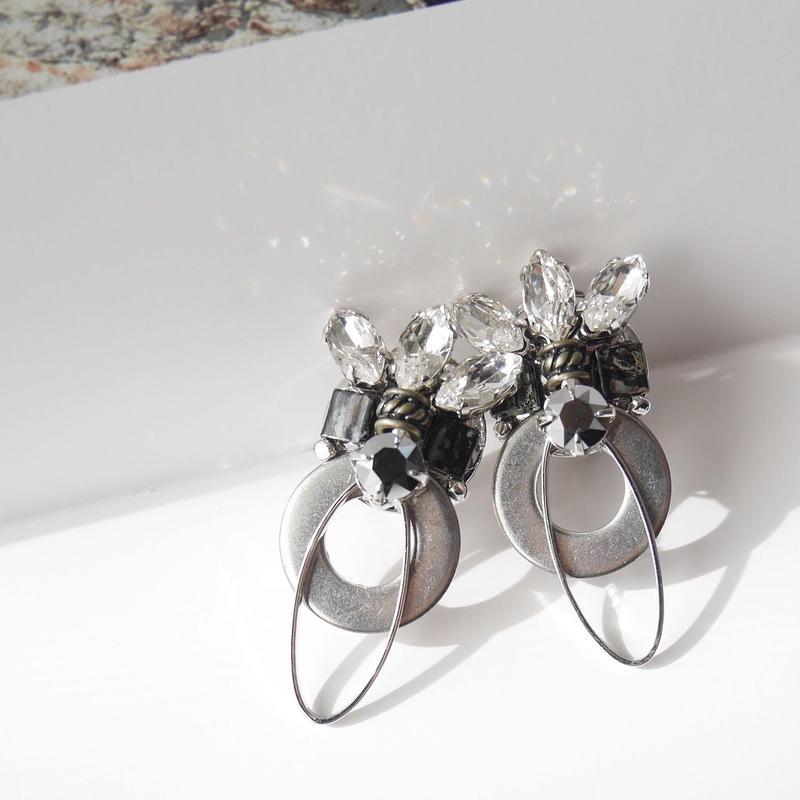 wapaha pierce/earrings SILVER