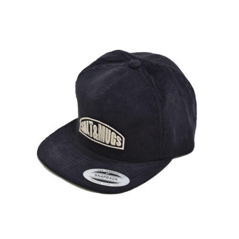 Corduroy patch cap