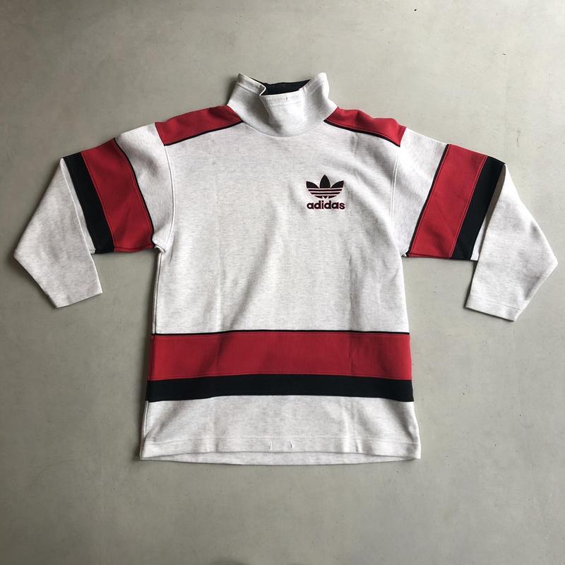 ~90s adidas Hi Neck Sweat Pullover