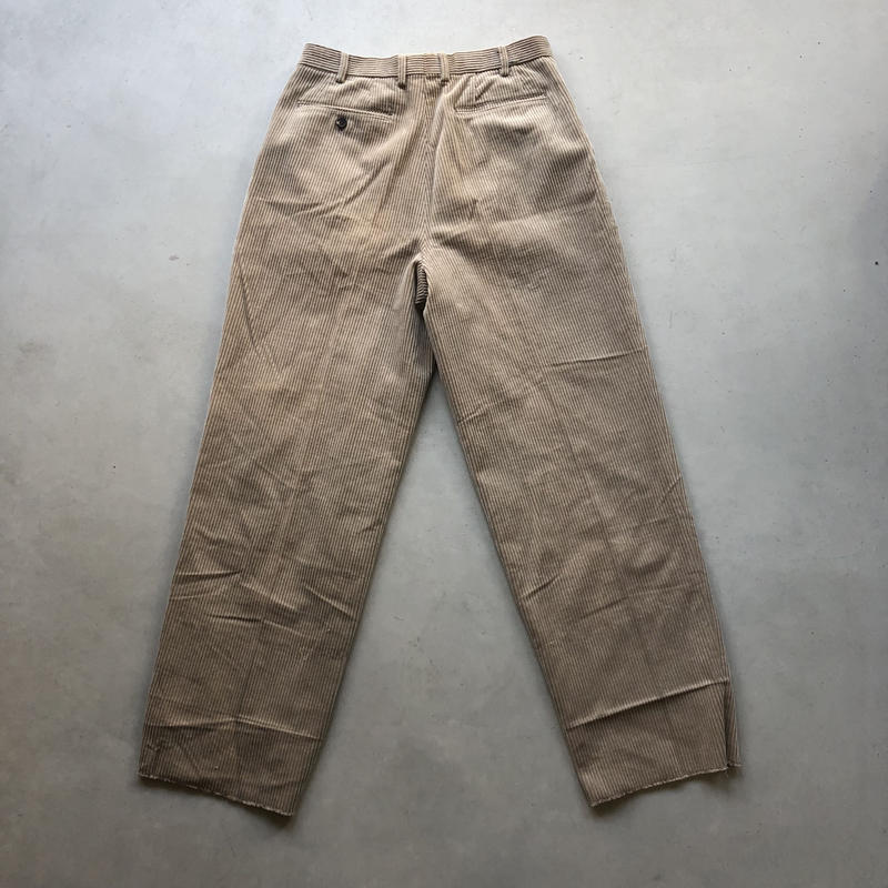 Old Corduroy Wide Pants