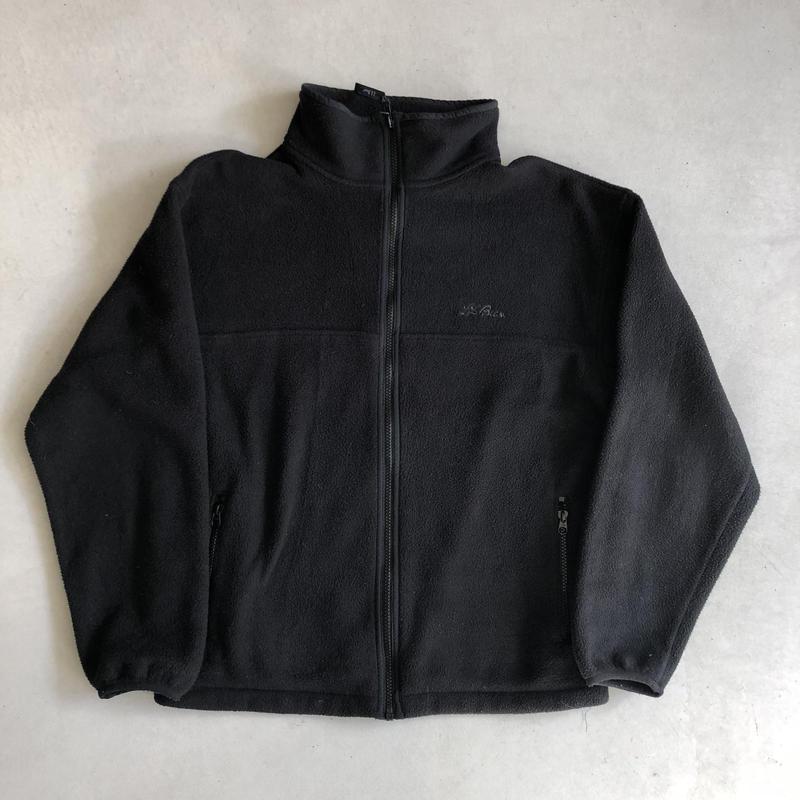 ~90s L.L.Bean Fleece Zip-Up Blouson