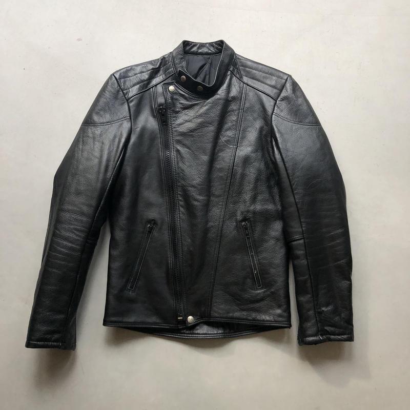 France Made 80s~ FURYGAN Leather Riders Jacket