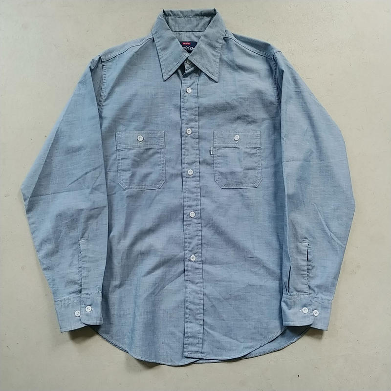 70s~ Levi's L/S Chambray Shirt