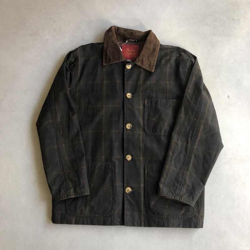 British Outdoors Oiled Cross Jacket