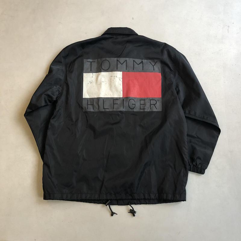 90s TOMMY HILFIGER Nylon Coach Jacket