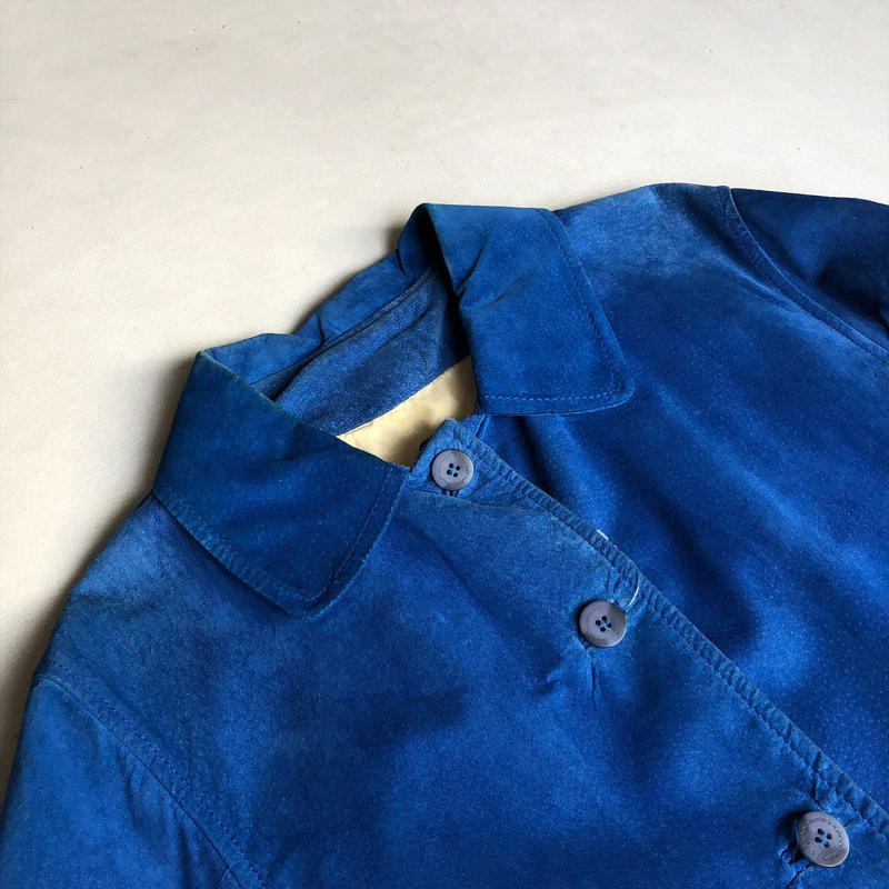 Spain Made Old IVONNE Suede Leather Jacket