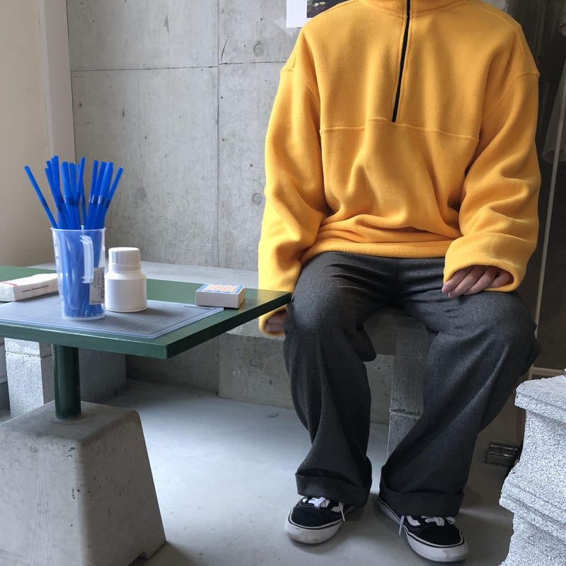 90s Eddie Bauer EBTEK Half Zip Fleece Pullover