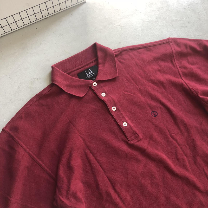 90s dunhill S/S Polo Shirt