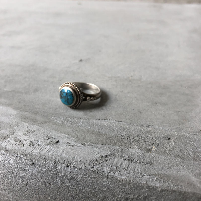Old Tuquoise Silver Ring