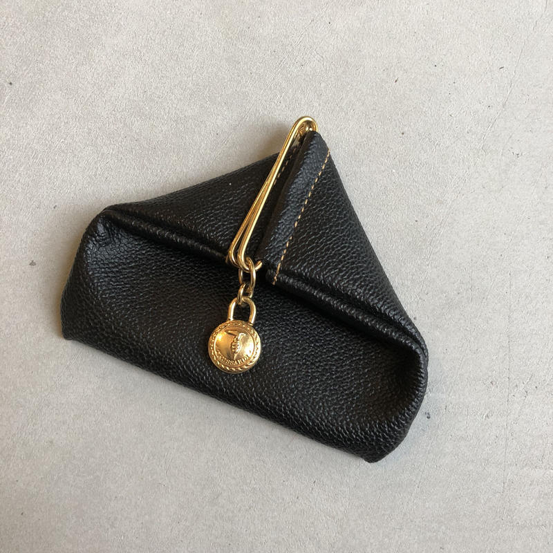 Old TRUSSARDI Lether Coin Case