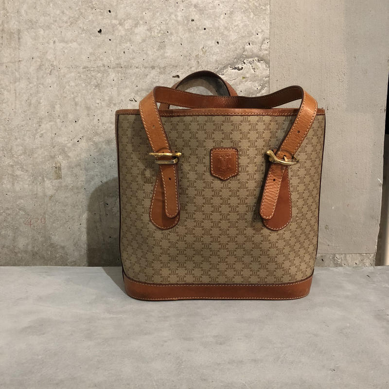 80s CELINE bucket tote bag