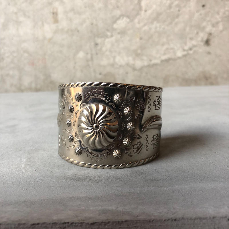 Old Nickel Silver Bangle