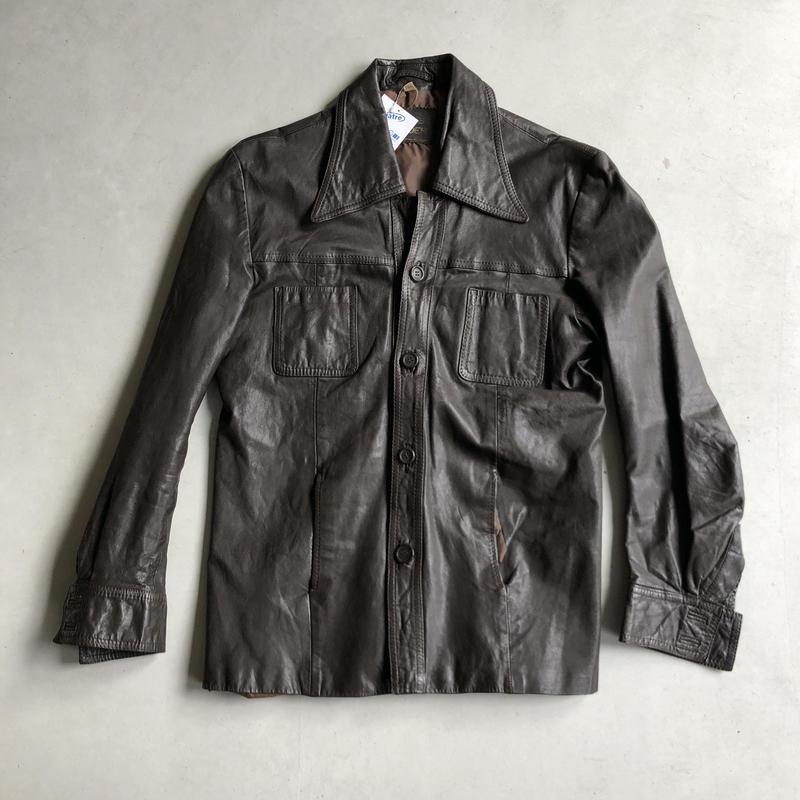 German Made Vintage Leather Jacket