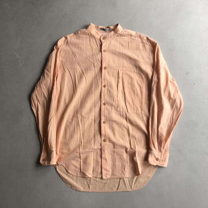 90s ISSEY MIYAKE MEN Stand Collar Shirt