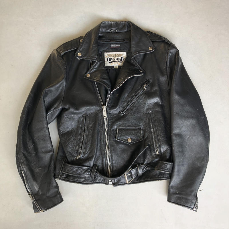 80s OPEN ROAD Double Riders Jacket