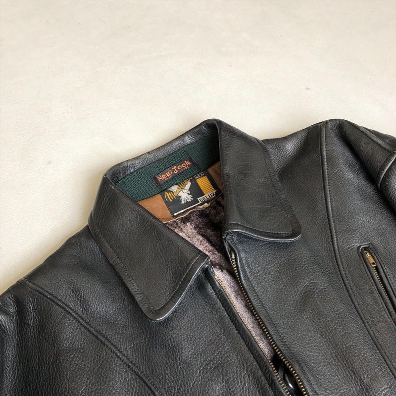 70s~ New Look Leather Jacket