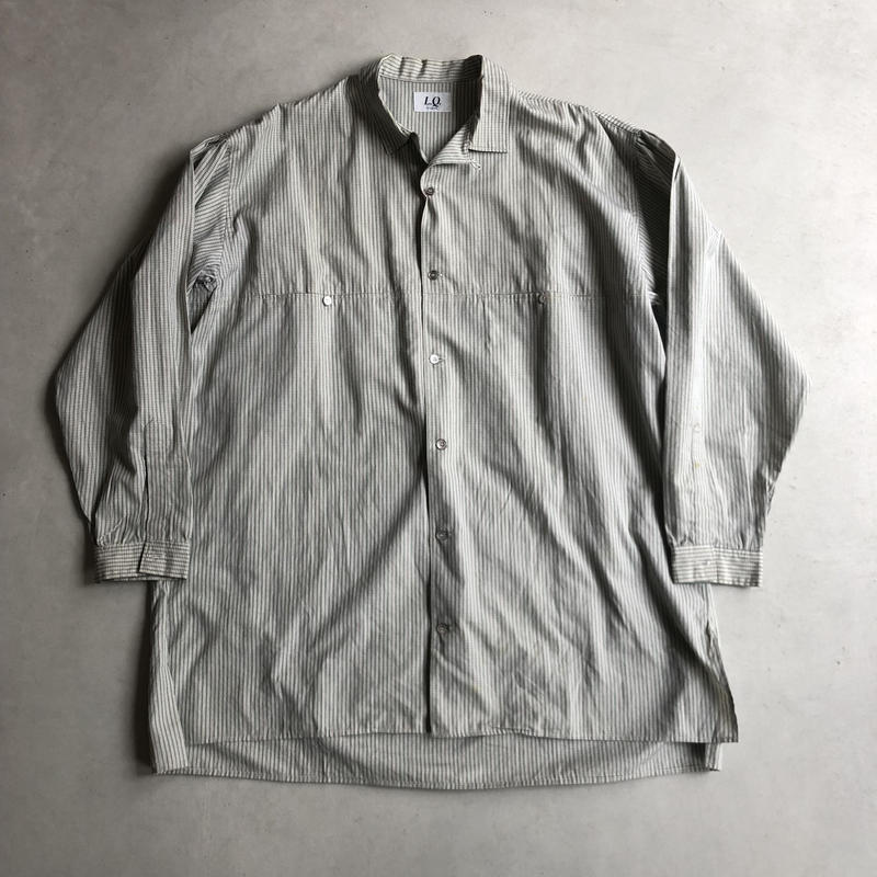 80s~ L.Q. Y's for men Big Shirt