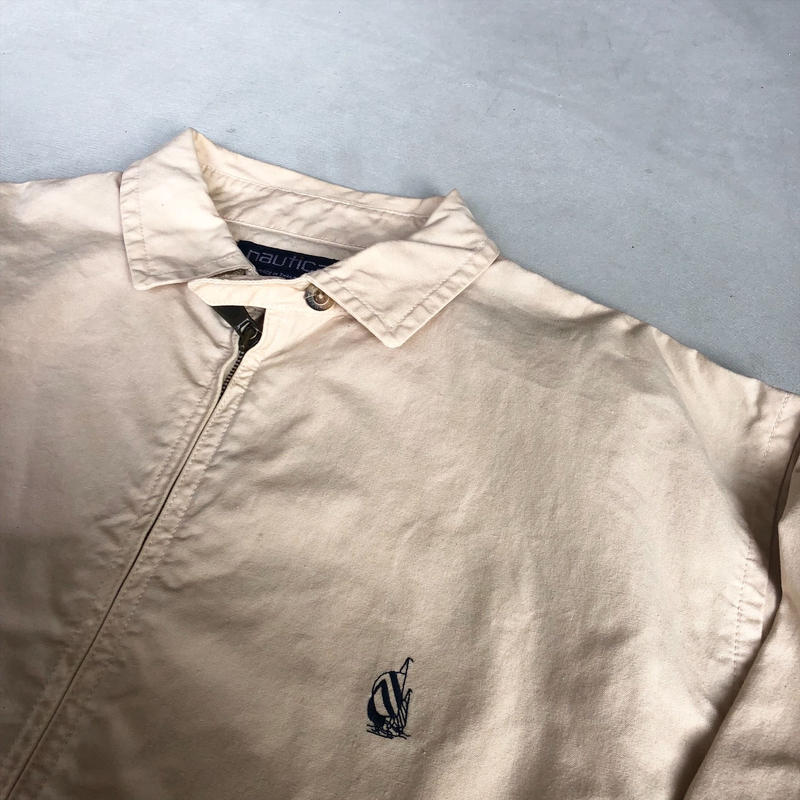 90s NAUTICA Zip-Up Cotton Boulson