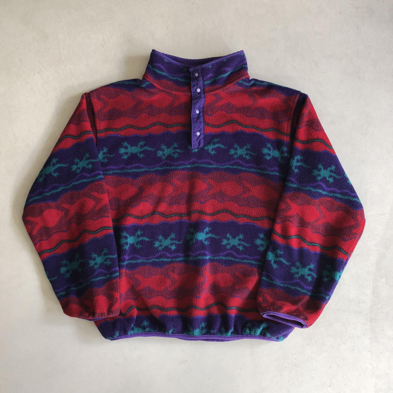 80s L.L.Bean Fleece Pullover