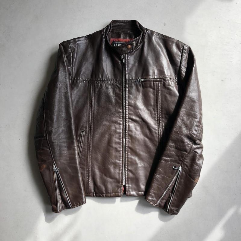 Vintage Cosa Nova Single Riders Jacket