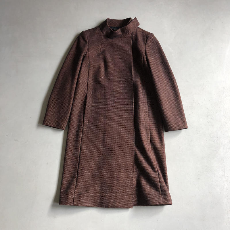 France Made A.P.C. Front Magnet Wool Coat